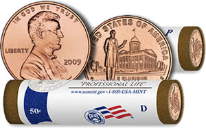 2009 Lincoln Professional Life Penny Rolls