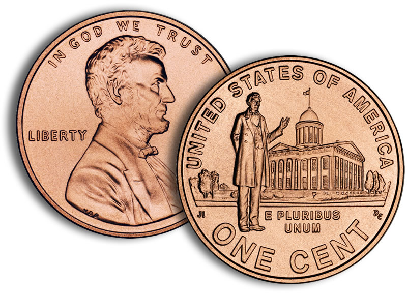 us mint lincoln penny 2009