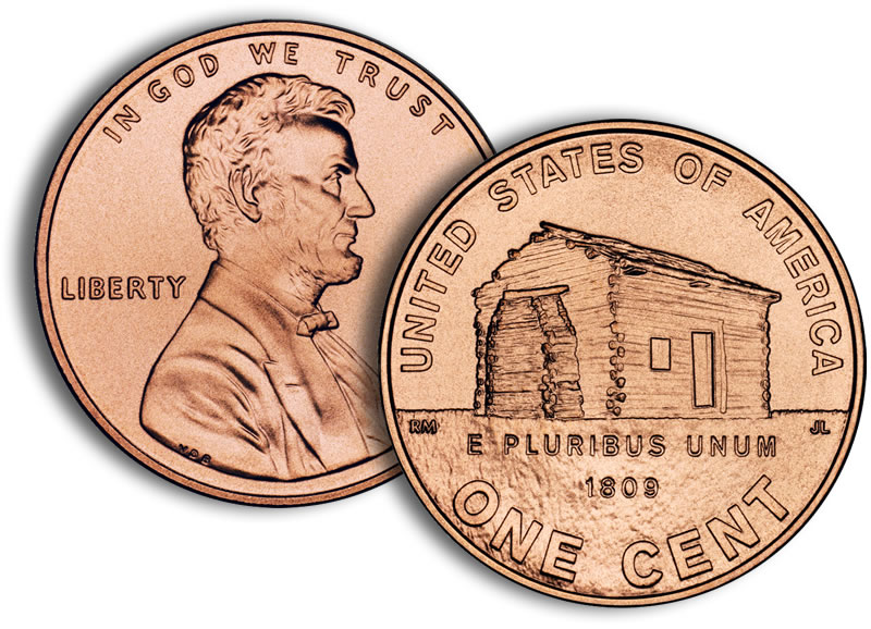 2009 Lincoln Log Cabin Penny