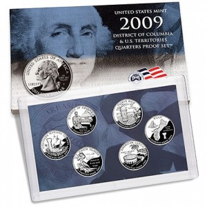 2009 DC & US Territories Quarters Proof Set - Click to Enlarge