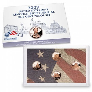 2009 Lincoln Bicentennial One Cent Proof Set - Click to Enlarge