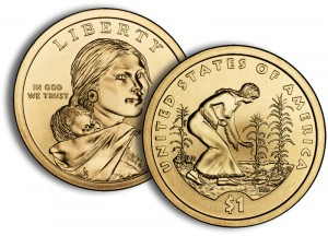 2009 Native American $1 Coin - Click to Enlarge