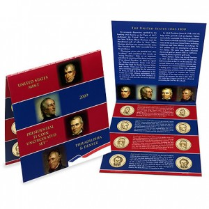 2009 Presidential Dollar Uncirculated Set - Click to Enlarge