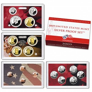 2009 US Mint Silver Proof Set - Click to Enlarge