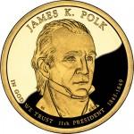 James K. Polk Presidential Dollar