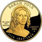 Sarah Polk First Spouse Gold Coin
