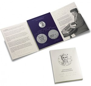 United States Mint Braille Education Set -  Click to Enlarge
