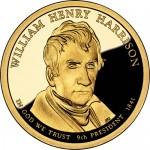 William Henry Harrison Presidential Dollar