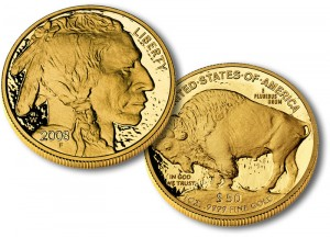 American Buffalo Gold Proof Coin - Click to Enlarge