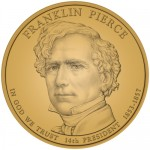 2010 Franklin Pierce Presidential $1 Coin, Obverse