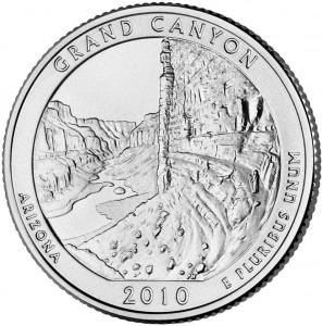 2010 Grand Canyon National Park Quarter