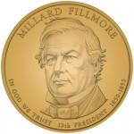 2010 Millard Fillmore Presidential $1 Coin, Obverse