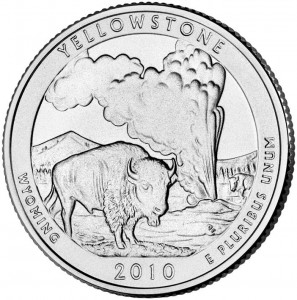 2010 Yellowstone National Park Quarter