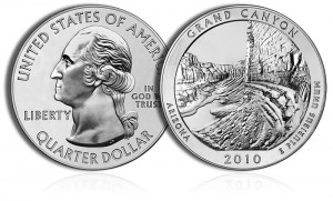 2010 Grand Canyon Silver Coin