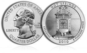 2010 Hot Springs Silver Coin
