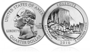 2010 Yosemite Silver Coin