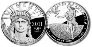 2011 American Platinum Eagle