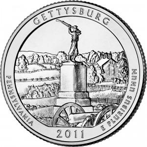 Gettysburg National Military Park Quarter