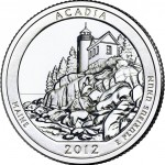 2012 Acadia National Park Quarter (US Mint image)