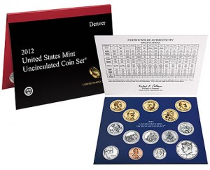 2012 US Mint Set