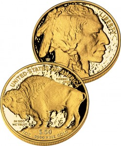 American Buffalo Gold Coins (US Mint images)