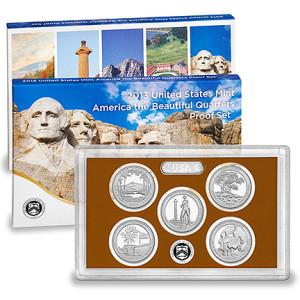 2013 United States Mint America the Beautiful Quarters Proof Set™